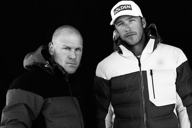 Didier Cuche + Bode Miller for Kjus