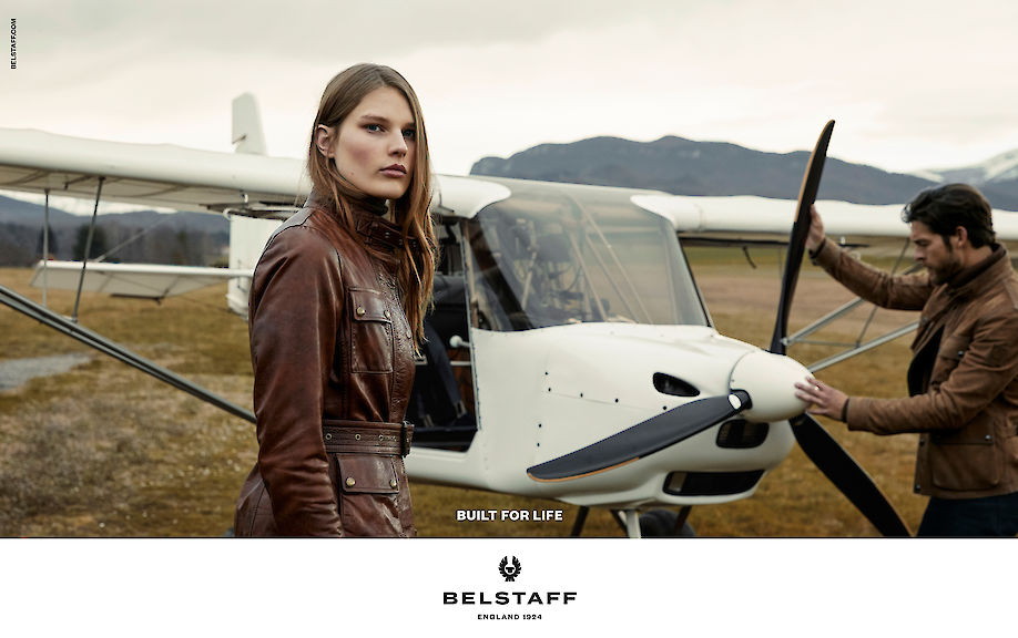 CYRILL MATTER shoots the new campaign for BELSTAFF
