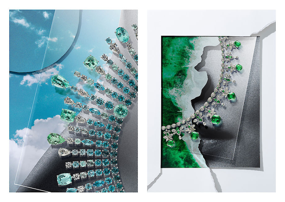 ARMIN ZOGBAUM shows CHOPARD'S Red Carpet collection in its creative interpretation