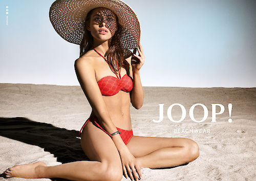 CLAUDIA GRASSL shoots the new campaign for JOOP! Beachwear