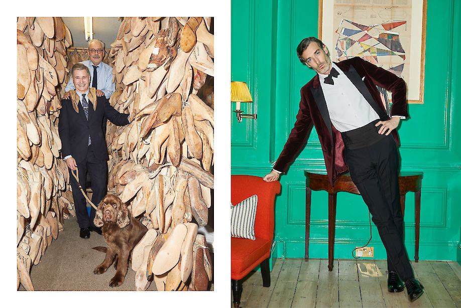 PHILIPP MUELLER shoots a JEREMY HACKETT special together with RICHARD BIEDUL for ROBB REPORT
