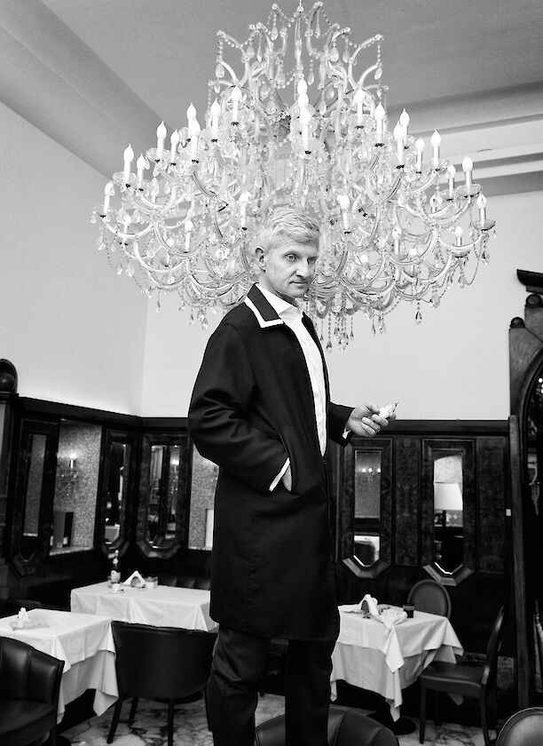 Andrea Illy for L'Uomo Vogue
