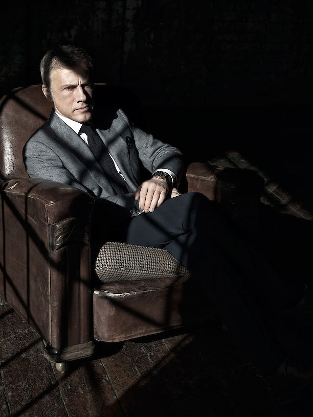 Christoph Waltz for Town & Country