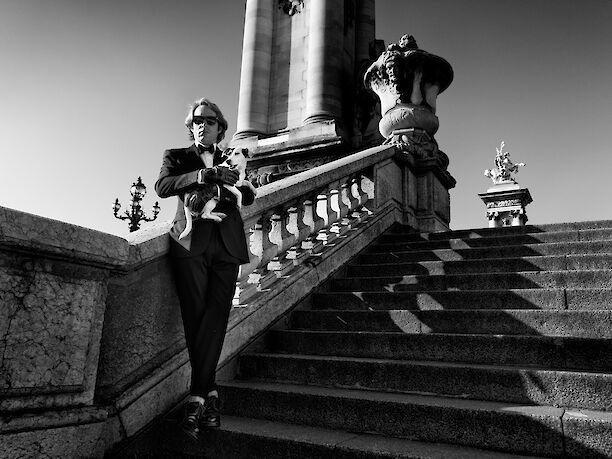 Clovis Taittinger for L'Uomo Vogue