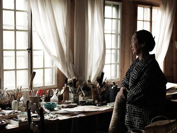 La comtesse Setsuko Klossowska de Rola Balthus