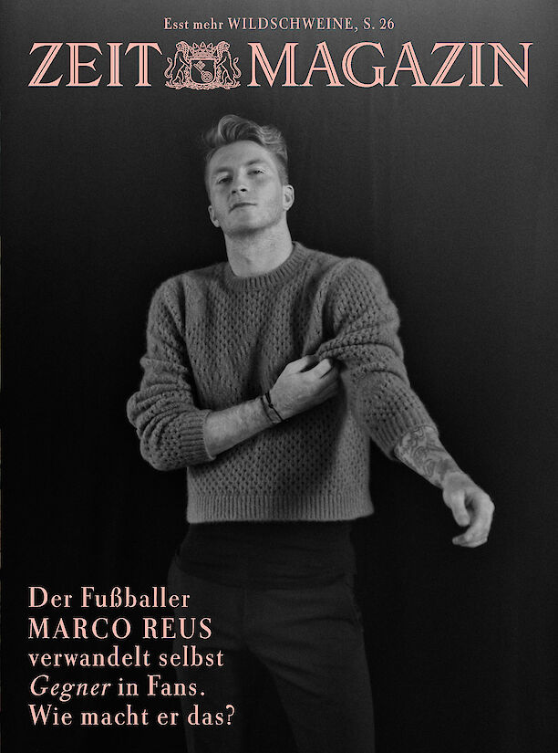 Marco Reus for Zeit Magazin