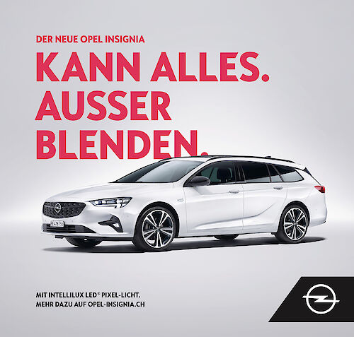 MIERSWA & KLUSKA shoots a campaign for OPEL
