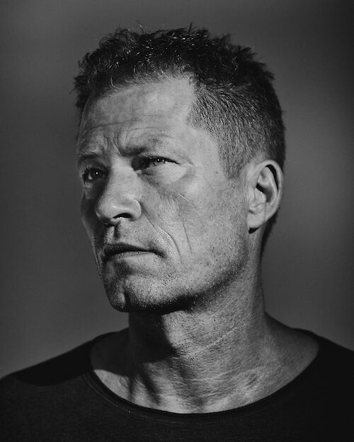 CYRILL MATTER shoots TIL SCHWEIGER for the Zurich Film Festival