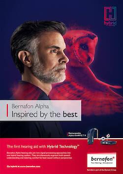 CYRILL MATTER shoots a new campaign for BERNAFON