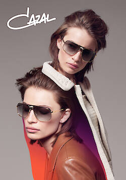 MIERSWA & KLUSKA shoots the new CAZAL eyewear campaign