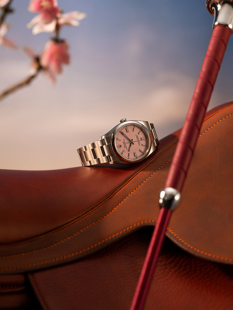 CHRISTIAN HAGEMANN shoots a watch story for ICON magazine