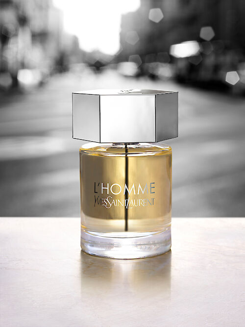 DOUGLAS MANDRY shoots the worldwide campaign of L'HOMME Le Parfum from YVES SAINT LAURENT