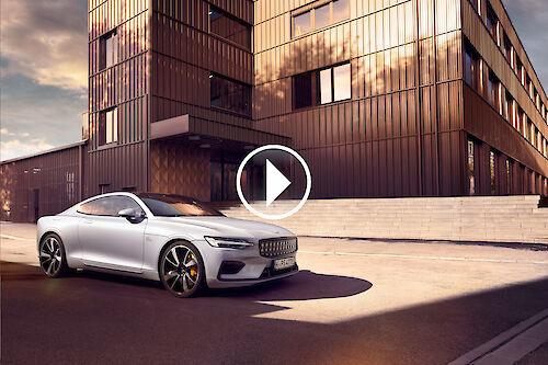 MIERSWA & KLUSKA new car video with a Polestar 1