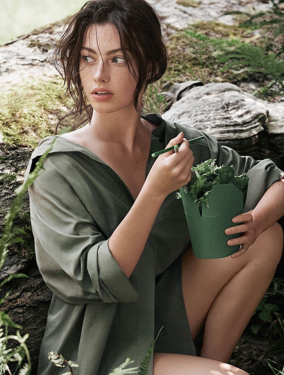 FLORIAN SOMMET shoots a green beauty story