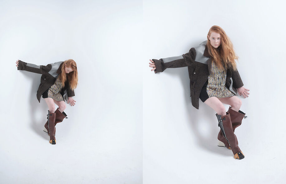 CLAUDIA GRASSL shoots the actress EMILY BEECHAM for ZOO magazine
