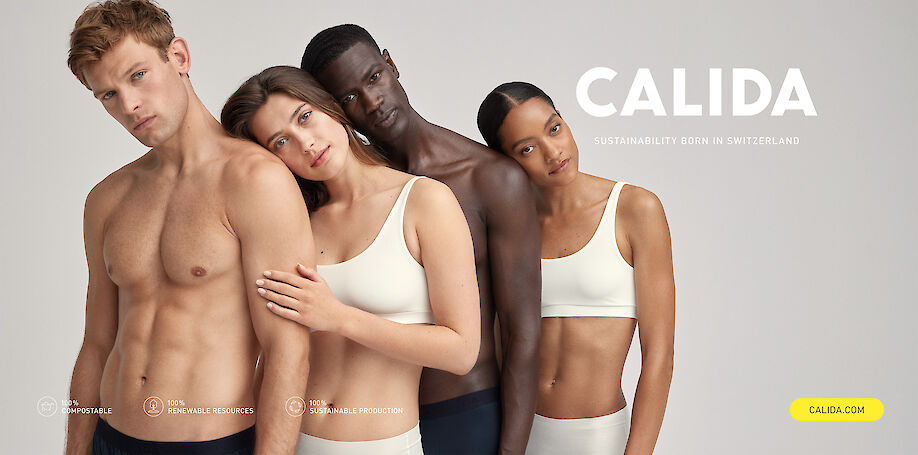 CYRILL MATTER shoots a new campaign for CALIDA